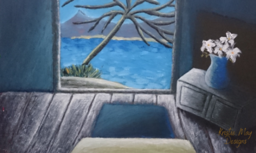 Kristie May Designs - Art - Room With A View Painting